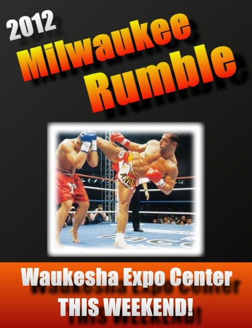 2012 Milwaukee Rumble Poster