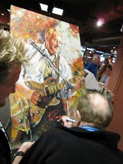 Tom Noll and Les Paul