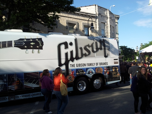 Gibson Guitar Town Tour Bus