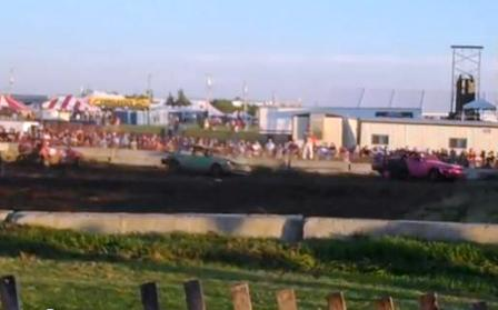 Waukesha County Fair Demo Derby