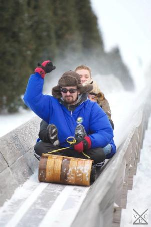 lowell hill toboggan run