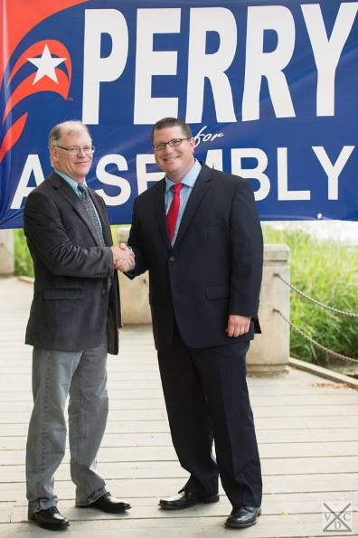 Aaron Perry endorsed by Mayor Shawn Reilly